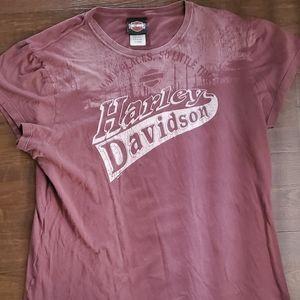 Harley Davidson Tee Shirt Women's XL